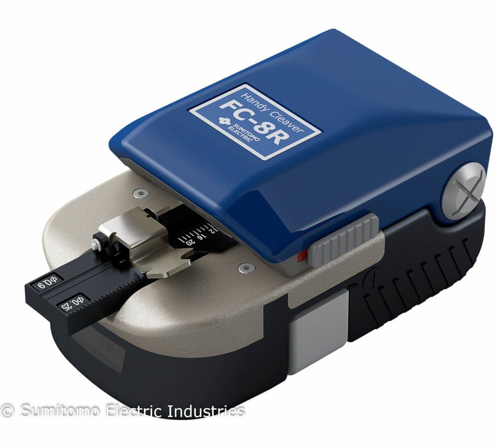 Optic Fiber Cleaver Blade High Precision Cutting Tool Manual Push Cutter FC-6S